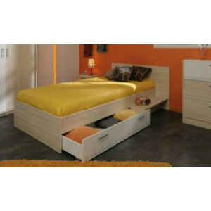 Milan Single Bed With Base Storage
