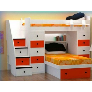 Revelation III Trundle Bunk Bed Series