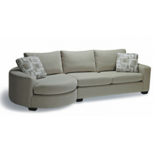 Teetop 5 Seater Curvy Sofa