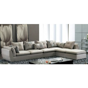 Wayne 7 Seater Leather Sectional Sofa