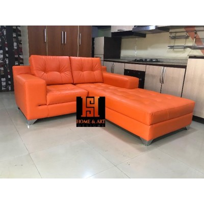 Shepherd 4 Seater Leather Sofa