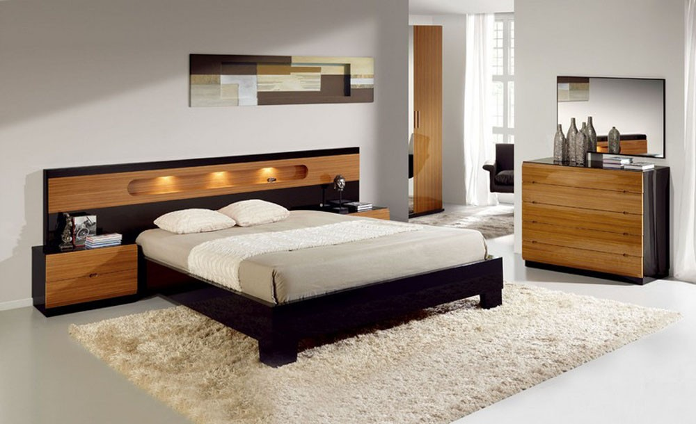 e6e176019 Aina Bed Series. King Size Bed With Night Stands. Lited Head Board And  Chest Of Drawers