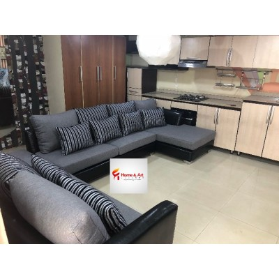 Fela U Shaped 8 Seater Sectional Sofa