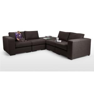 Graceful 4 Seater With Ottoman